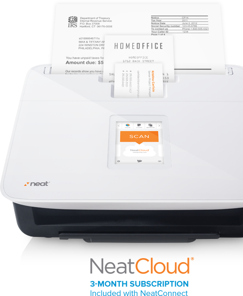 scanning to neatcloud Getting Started With NeatConnect
