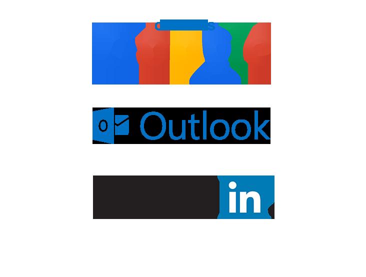 contact logos Contacts