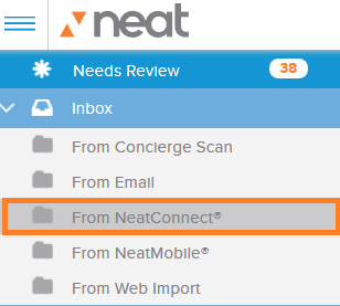 web app from neatconnect
